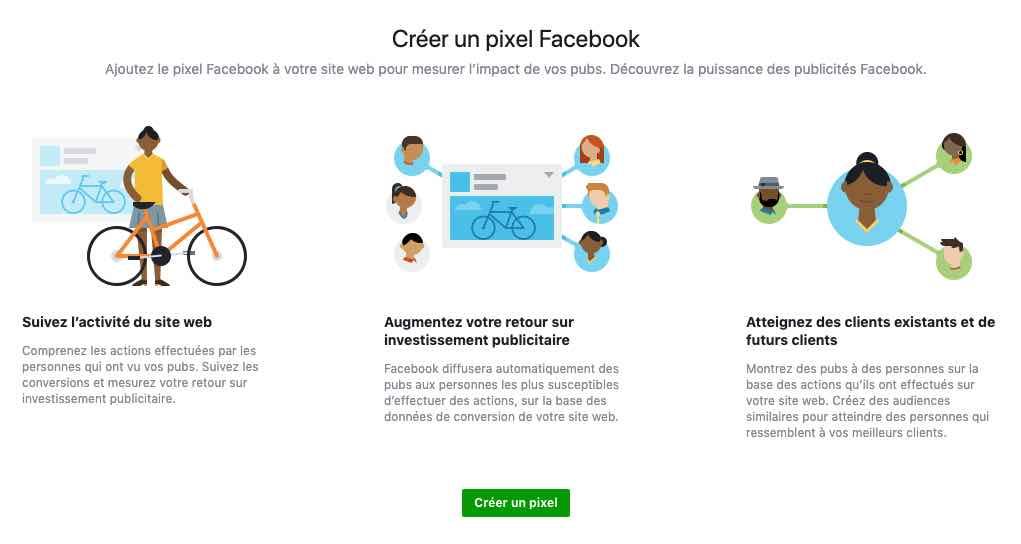 Pixel facebook agence conseil instagram publicité social media réseau ads