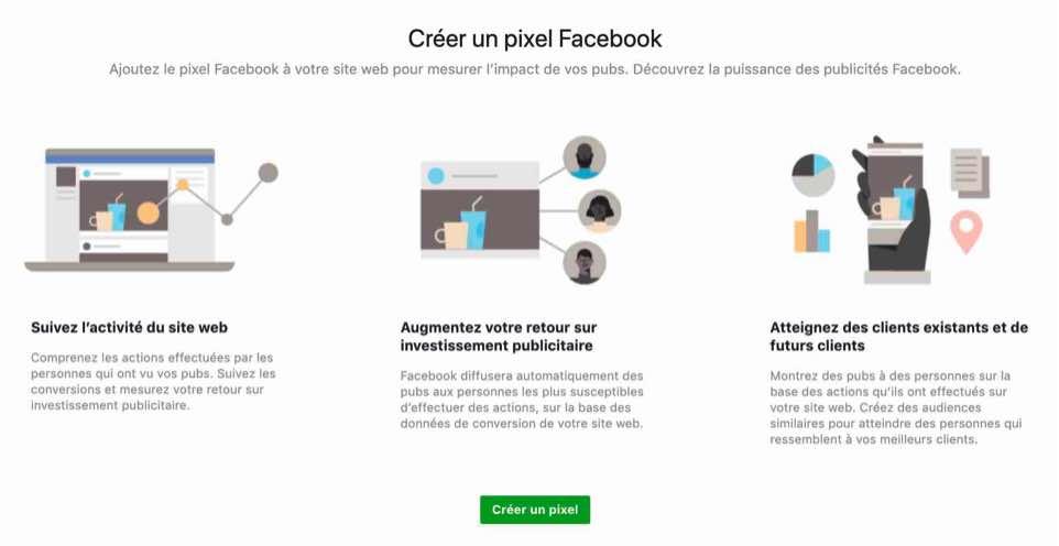 agence experte facebook ads instagram publicité digitale acquisition digitale pixel business manager linkedin pinterest